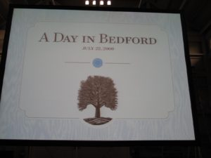 The name of the day was 'A Day in Bedford.'