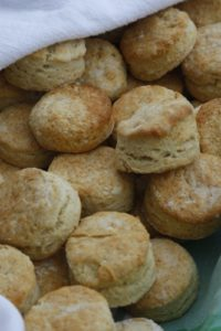 Buttermilk biscuits that I baked myself