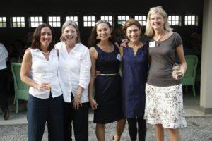 Body and Soul team - Donna Merritt (Boston/sales), Justine Beaudoin (Boston/brand director) Heather Kimoto (Los Angeles/sales), Jan Bruce (svp publisher/Boston), and Kathy Staib (sales Long Island)