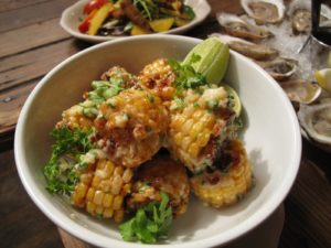 The deep fried corn is extraordinaire!