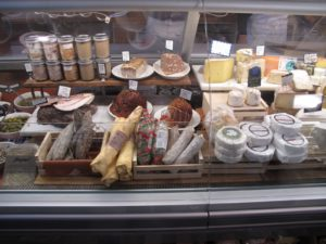 Some of the cured meats, cheeses, and other delicacies sold at Marlow & Daughters