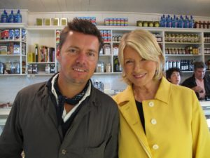 Co-owner Mark Firth and me