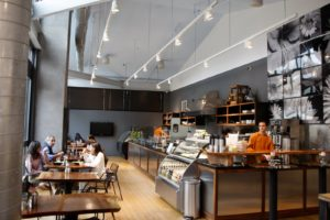 Adjacent to the show room is the Mariani Cafe, which serves delicious food made from local ingredients.
