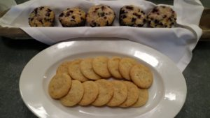 Home baked cookies and muffins keep coming out of the ovens, so guests always have something homemade to eat.