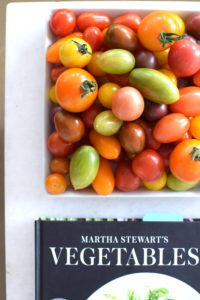 """Martha Stewart's Vegetables"" will be in bookstores September 6th. I am so excited about this book - it is an indispensable resource for selecting, storing, preparing, and cooking all sorts of vegetables."