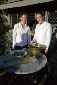 This was our caipirinhas station. Our servers, Kate Unkel and Victoria Church, couldn't make them fast enough - the caipirinhas were a big hit with many of the guests.