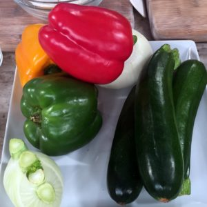 There is also a plethora of produce in the markets this time of year - it's just perfect for ratatouille.