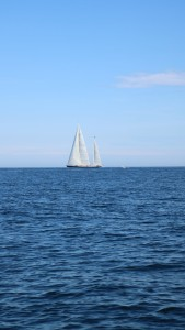 """This is the 139-foot yacht named """"Rebecca"""". It is one of the finest looking, modern sailing yachts in the world."""