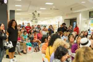 More than 100-guests filled the Home Store of the Macy's Del Amo Fashion Center. (Photo by Wire Image)