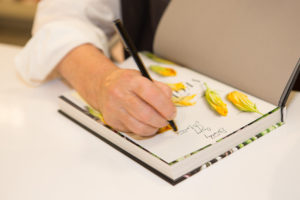 I signed more than 200-books during this event - and I do my best to personalize each one.  (Photo by Wire Image)