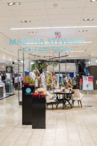 The event was adjacent to our Martha Stewart Collections section - all the shelves were well-stocked and easy for guests to see. Macy's always creates such pretty displays. (Photo by Wire Image)
