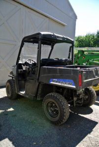 We are all very pleased with our Polaris Ranger EV, and will continue to show you how useful it is here at the farm.