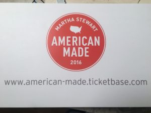 To get your tickets for American Made 2016, please go to  http://american-made.ticketbase.com/