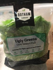 Almost half of all produce in the US is thrown out. Gotham Greens also helps fight food waste by packaging cosmetically imperfect, but perfectly delicious, produce! Ugly Greens are available at various Whole Foods markets.
