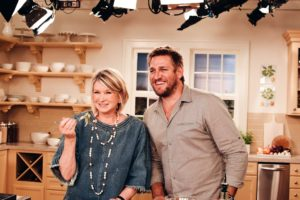 Chef Curtis Stone has been on my television shows before. It was so much fun to have him back in my kitchen studio - this time for Facebook LIVE.
