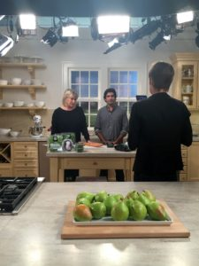 "I hosted a special American Made Facebook LIVE to promote this year's event. We shot it in our Martha Stewart Living ""Turkey Hill Kitchen"" - it's one of my favorite kitchens, and part of my collection at The Home Depot. http://www.homedepot.com/c/SPC_BRD_MSL_Kitchen"