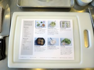 On the back of the recipe card are easy-to-read and easy-to-follow steps and helpful tips.