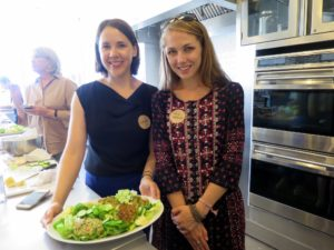 Jenna Helwig from Parents Magazine and Mia Weber from New York Family Magazine