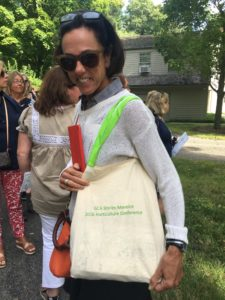 Some guests used their Shirley Meneice Horticulture Conference totes.