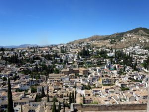 Granada is a city in southern Spain's Andalusia region, in the foothills of the Sierra Nevada mountains - it's known for grand examples of medieval architecture.