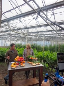We held our own Facebook LIVE in the Stone Barns Center for Food and Agriculture Greenhouse. There, I was joined by its farm director, Jack Algiere.