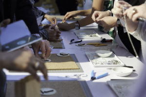 Our Summit offers interactive craft demonstrations, where attendees can be creative.
