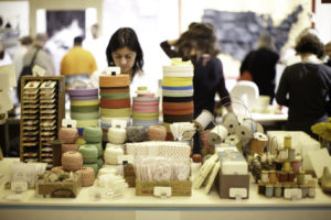 This is one of the 2012 Shop vendors, Studio Carta, an internationally recognized design studio specializing in custom ribbons, twines, unique accessories and fine stationery imported directly from Italy. http://www.shopangelaliguori.com