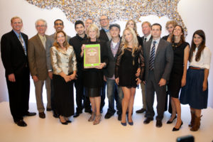 Here I am with our 2013 Honorees at our second annual Martha Stewart American Made awards celebration - an exciting year saluting and highlighting 10 up-and-coming entrepreneurs, who have shown innovation and creativity in their respective fields creating American made goods.