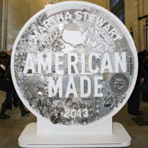 This is our glittering 2013 American Made logo.