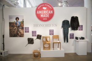 Our Honoree displays incorporate photographs, actual products, and explanatory text telling their entrepreneurial stories.