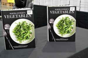 """Vegetables"" is my 87th book. It's a great source for selecting, storing, and preparing fresh, healthy vegetables."