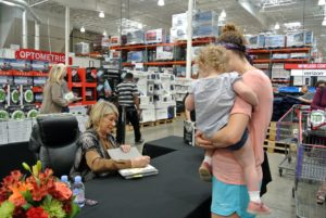 I met a lot of children at this book signing - always fun to meet members of the next generation of cooks.
