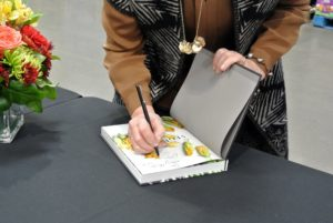 I signed more than 100-books during this event – it's a lot of writing, but my hand is used to it.