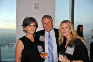 Our editorial director of books, Ellen Morrissey, MSLO publisher, Daren Mazzucca, and beauty editor, Melissa Goldstein