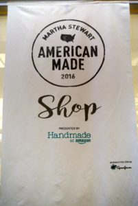 At every Summit, we designate part of our office space to shop vendors - it's a great opportunity for guests to get ahead on their holiday shopping. Thanks goes to Handmade at Amazon for supporting handmade, locally-based artisans and small business owners. Handmade at Amazon presented our shop this year. https://www.facebook.com/marthastewart/videos/vb.32864016288/10154670538386289/?type=2&theater