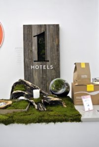 This beautiful display was made by 1 Hotels, which served as the Official Hotel Sponor of American Made. Thank you 1Hotels Central Park.