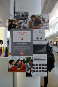 Girls Who Code has a mission to close the gender gap in the digital world by teaching and networking girls who are passionate about technology. https://girlswhocode.com