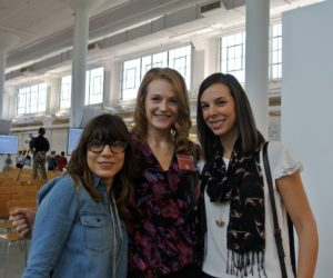 Senior brand relations manager, Kimberly Dumer, Allison Axdorff, marketing manager at Handmade at Amazon, and Jaclyn LeBre, category manager at Handmade at Amazon