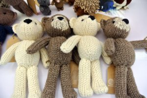 Yarnigans' adorable knit creatures were among the biggest sellers in our storefront on Handmade at Amazon. http://www.amazon.com/handmade/Yarnigans