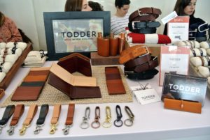 For well-made leather goods and ideal Christmas gifts for dad, look at the wonderful items at Todder. www.todderusa.com. Many of my employees bought belts and key fobs from Ted Harriss and nautical-inspired bracelets from sister Bridget Harriss of Sailormade. http://www.amazon.com/handmade/Sailormade