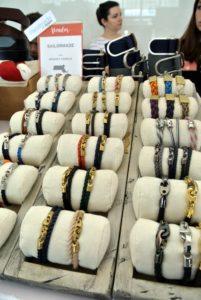 Bridget Harrisses' Sailormade bracelets were a big hit. http://www.amazon.com/handmade/Sailormade.