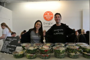 Sweetgreen focuses on building healthier communities from the seed to the store by working with local growers to create seasonal menus wherever their shops are located. Sweetgreen provided lunch for our attendees - a selection of organic, and tasty salads - everyone loved them! https://girlswhocode.com
