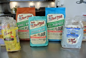 Bob's Red Mill is a brand produced by Bob's Red Mill Natural Foods of Milwaukie, Oregon. The company was established in 1978 and has been making natural, certified organic, and gluten-free milled grain products ever since. We love Bob's Red Mill and often use it in our kitchens.