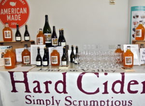 "I was happy to have our old friend Elizabeth Ryan serve her tasty hard cider - right in the middle of New York City's ""Cider Week"". You can still catch events if you're in the area. http://ciderweeknyc.com/  http://www.marthastewart.com/915501/tour-breezy-hill-apple-orchard"