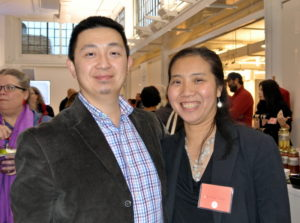 Angus Chen and his wife, Natalie