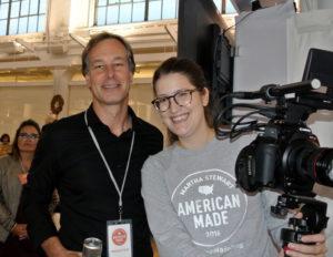 Paul Delmiche and Tina Carmelich