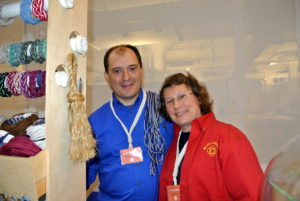 Two of our dedicated vendors, and winners from our first American Made event, Mystic Knotwork's Matt and Jill Beaudoin. Matt and Jill have attended all our American Made Summits. http://www.amazon.com/handmade/MysticKnotwork