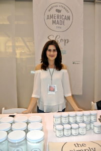 """Here is entrepreneur and """"Trash is for Tossers"""" blogger, Lauren Singer, who is also founder of The simply Co., which makes toxin free sustainable cleaning products. http://thesimplyco.com"""
