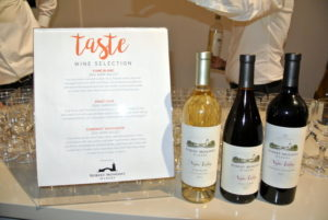 We served wine from one of our favorite purveyors, the Robert Mondavi Winery. https://www.robertmondaviwinery.com