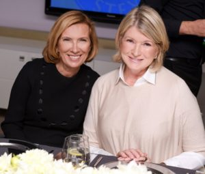 Here I am with Liz Rodbell, President of Hudson's Bay and Lord & Taylor. (Photo by George Pimentel/Getty)